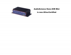 AudioScience Hono AVB Mini