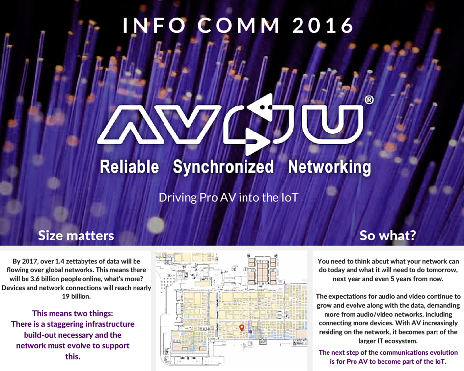 AVnu InfoComm16 Graphic